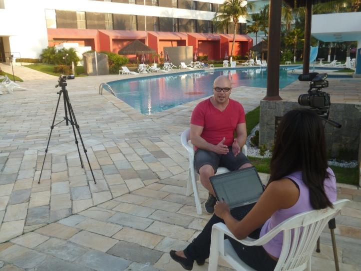 Marlon Pestana entrevistado por Márcia Jamille