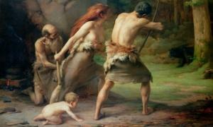 Os autores do estudo argumentam que a igualdade sexual pode ter provido uma vantagem evolutiva para as primeiras sociedades humanas, como teria fomentado uma mais abrangente rede social. Fotografia: The Gallery Collection/Corbis
