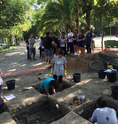 Escavações Praça Tamandaré-Rio Grande RS. Foto Rodrigo Valentini