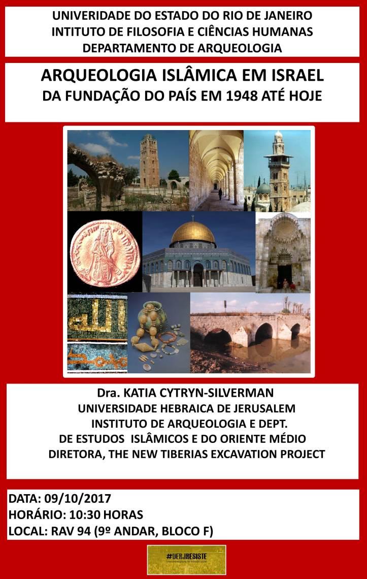 Cartaz ARQUEOLOGIA ISLÂMICA