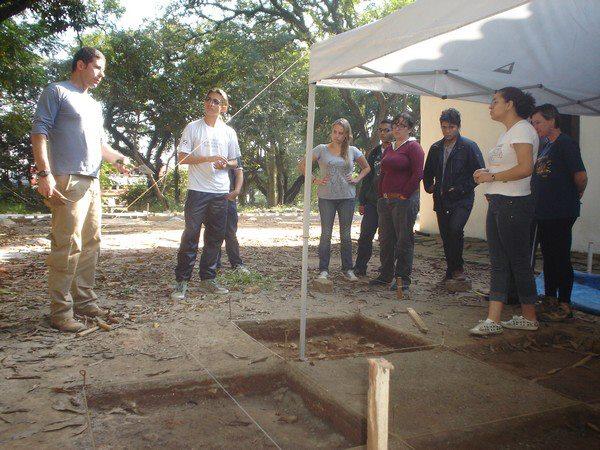 casa do bandeirante escavação2