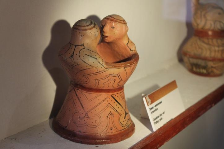 Cerâmica Kari'na em exposição no Surinaams Museum - Suriname