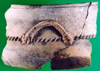 Minas de Araçoiaba, Sítio Arqueológico Afonso Sardinha, final do século XVI-séc. XVIII (vasilhas de contexto datado para o século XVI) - 1.png