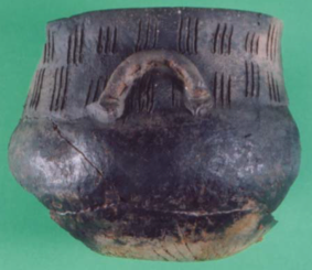 Minas de Araçoiaba, Sítio Arqueológico Afonso Sardinha, final do século XVI-séc. XVIII (vasilhas de contexto datado para o século XVI).png