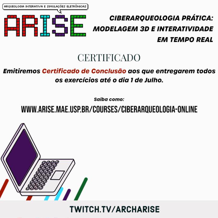 Certificado - Curso Ciberarqueologia
